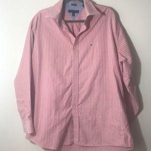 Tommy Hilfiger vertical striped shirt